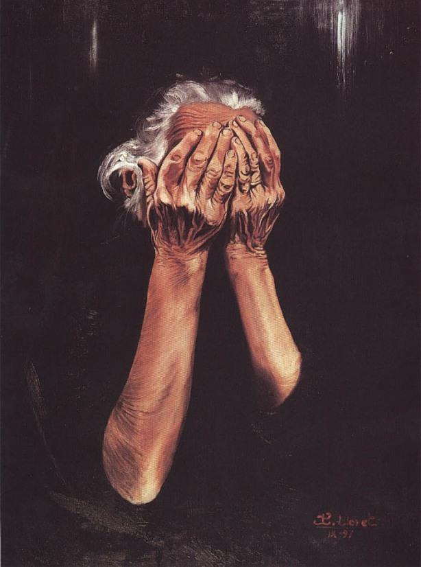 Abuela by Tachi - © www.tachipintor.com