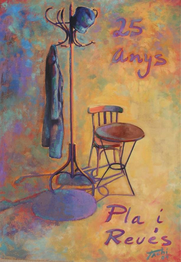 Cartel 25 anys Pla i Reves by Tachi - © www.tachipintor.com