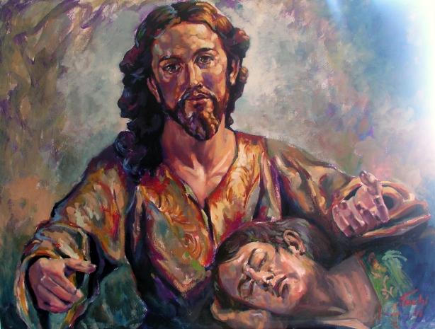 Cristo del Salcillo by Tachi