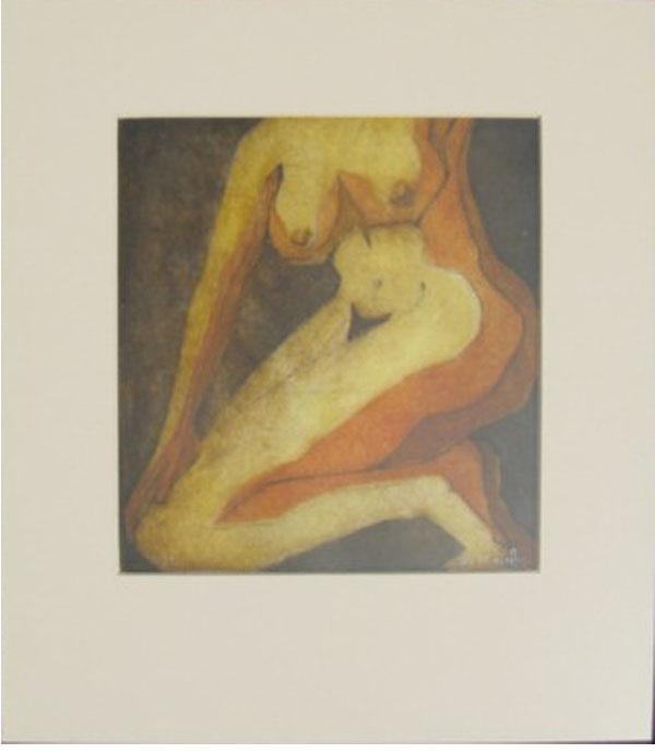 Desnudo I by Tachi - © www.tachipintor.com