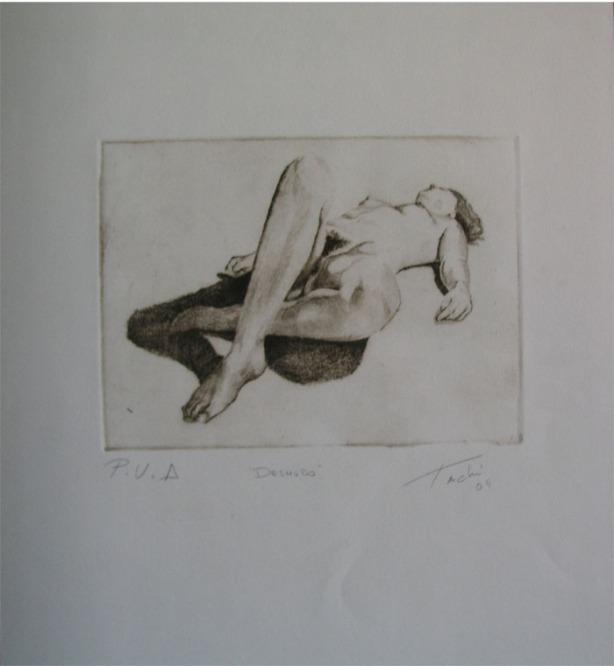 Desnudo by Tachi - © www.tachipintor.com