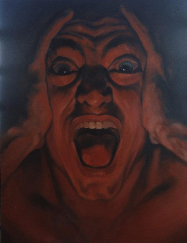 El grito 2 by Tachi - © www.tachipintor.com