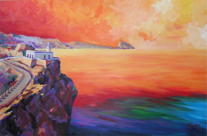 Faro del Albir by Tachi - © www.tachipintor.com