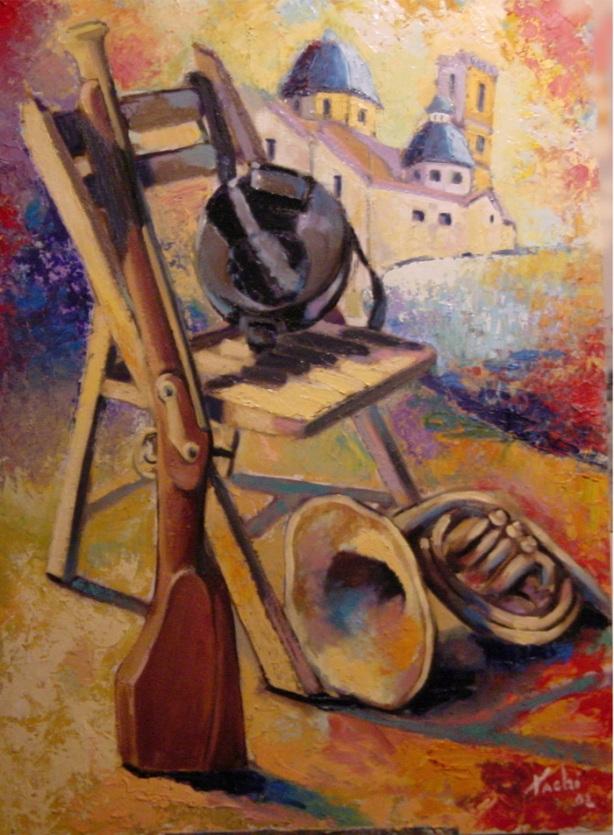 Moros y Cristianos Altea 2002 by Tachi - © www.tachipintor.com