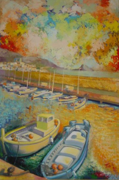 Puerto I by Tachi - © www.tachipintor.com