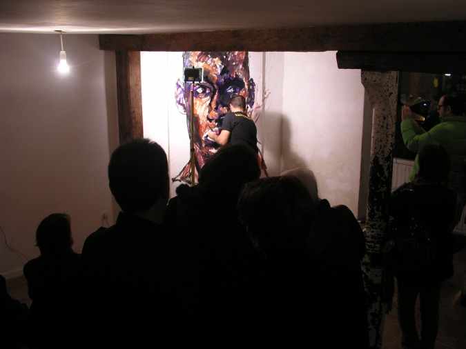 Tachi Live Painting - 6+1 Gallery - Madrid