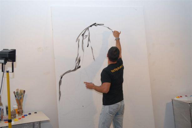 Empezamos a pintar