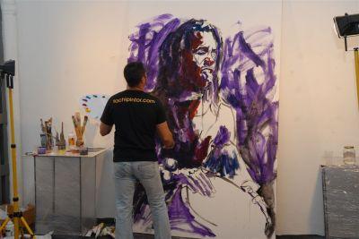 Tachi - Live Painting - Nómada