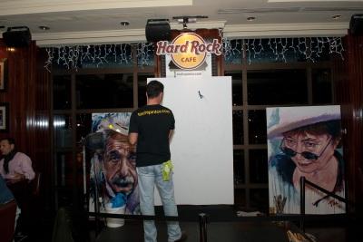 Tachi - Live Painting - John Lennon