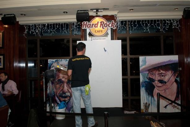 Tachi Pinta a John Lennon en Hard Rock Cafe Madrid-03