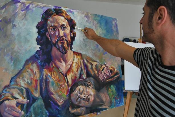 Cristo de Salcillo by Tachi