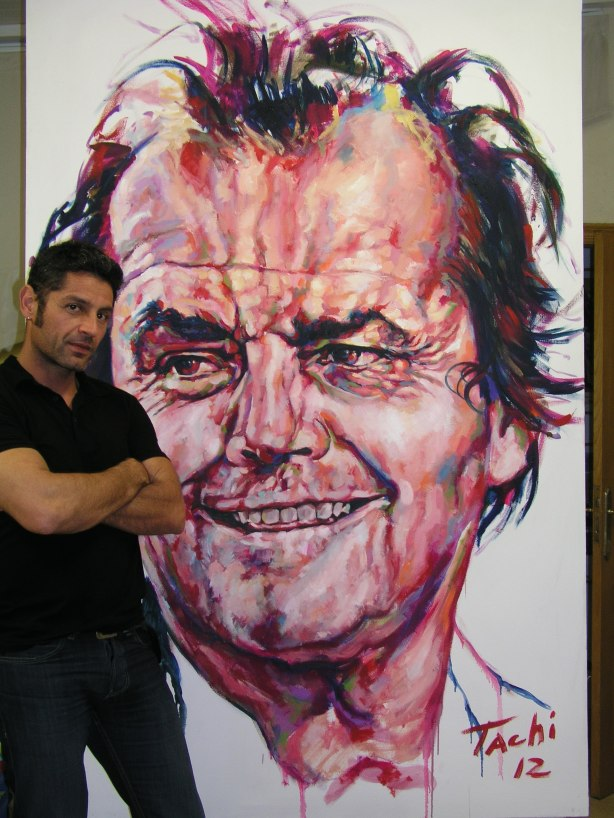 Jack Nicholson and Tachi