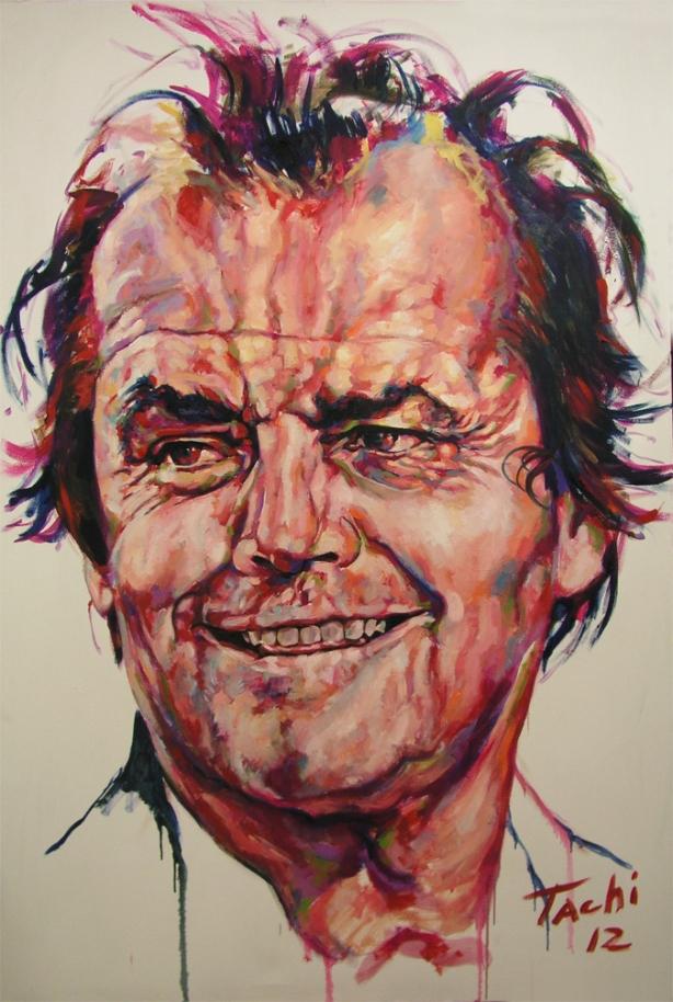 Jack Nicholson by Tachi
