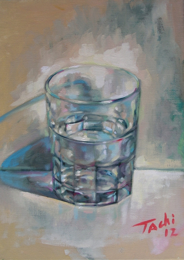 Vaso de agua 1 - Glass of water 1 by Tachi