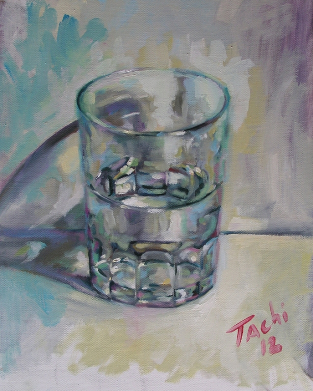 Vaso de agua 2 - Glass of water 2 by Tachi
