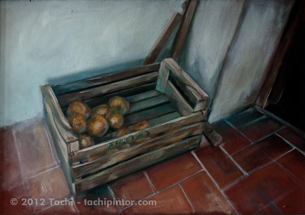 Caja de cebollas by Tachi - © Tachipintor.com