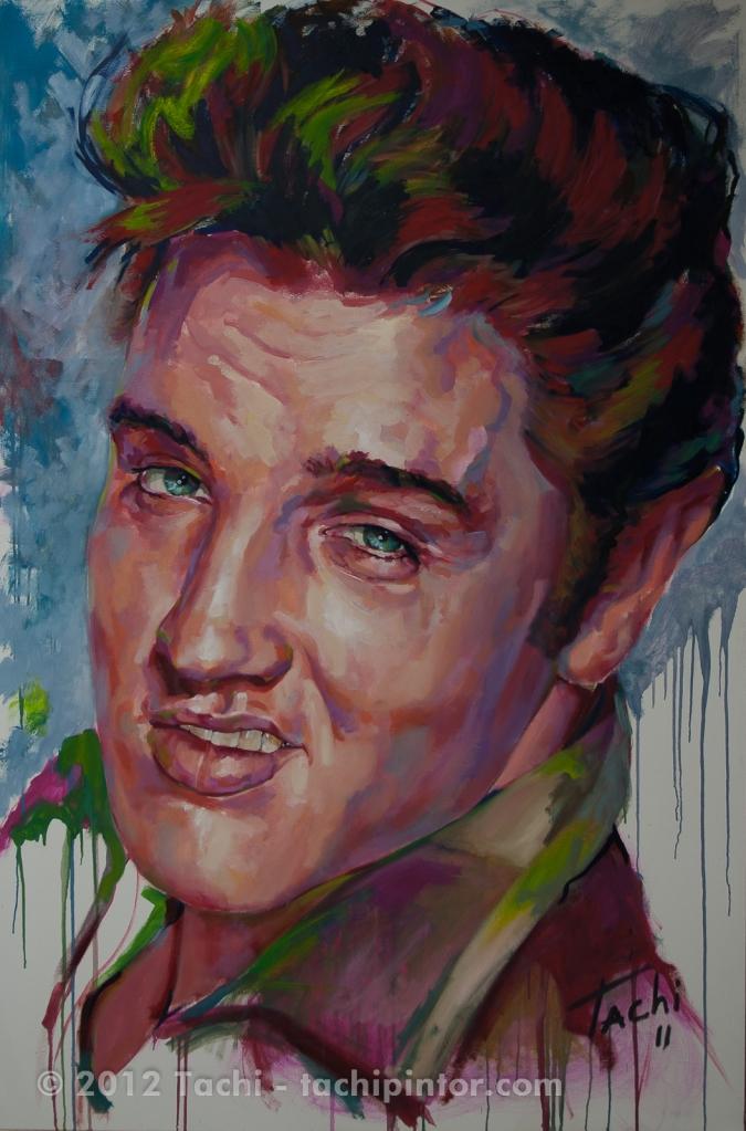 Elvis Presley by Tachi - © www.tachipintor.com
