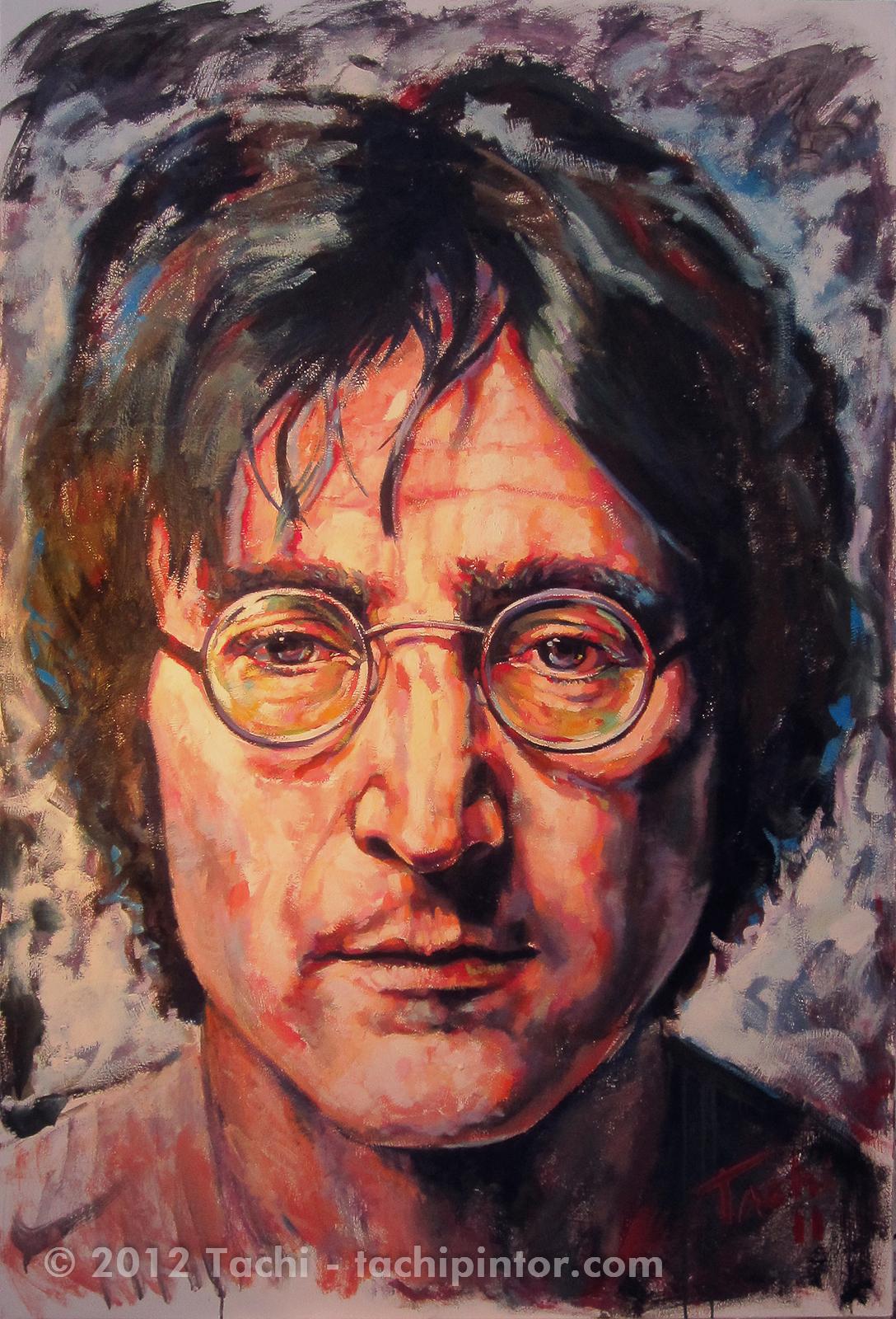 John Lennon by Tachi - © www.tachipintor.com