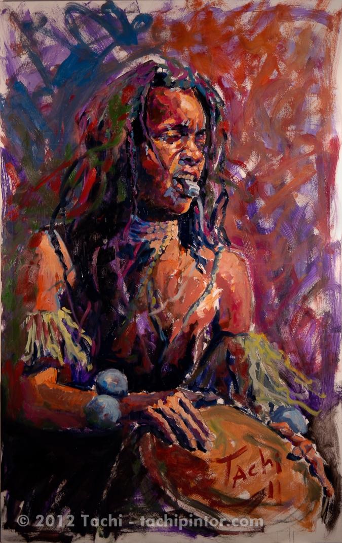 Nómada by Tachi - © Tachipintor.com