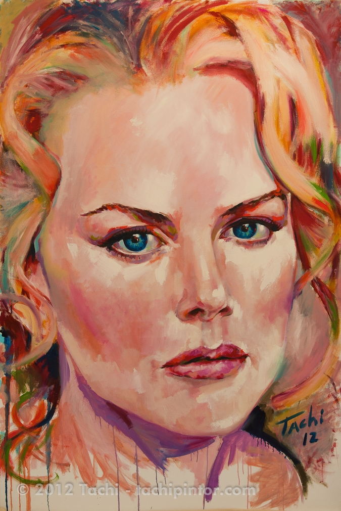 Nicole Kidman by Tachi - © www.tachipintor.com