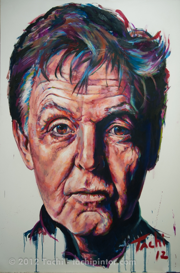 Paul McCartney by Tachi - © Tachipintor.com