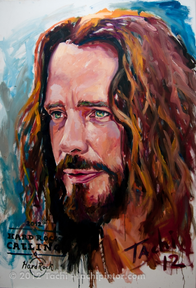 Chris Cornell by Tachi