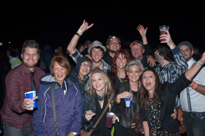 Hard Rock Calling 2012 - Hey Monea! and family