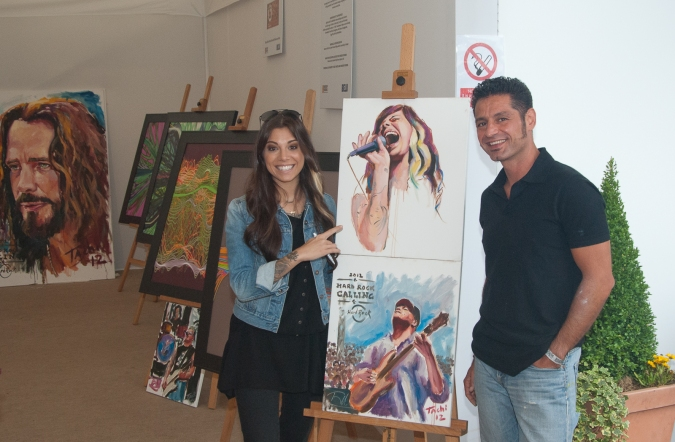 Christina Perri & Tachi