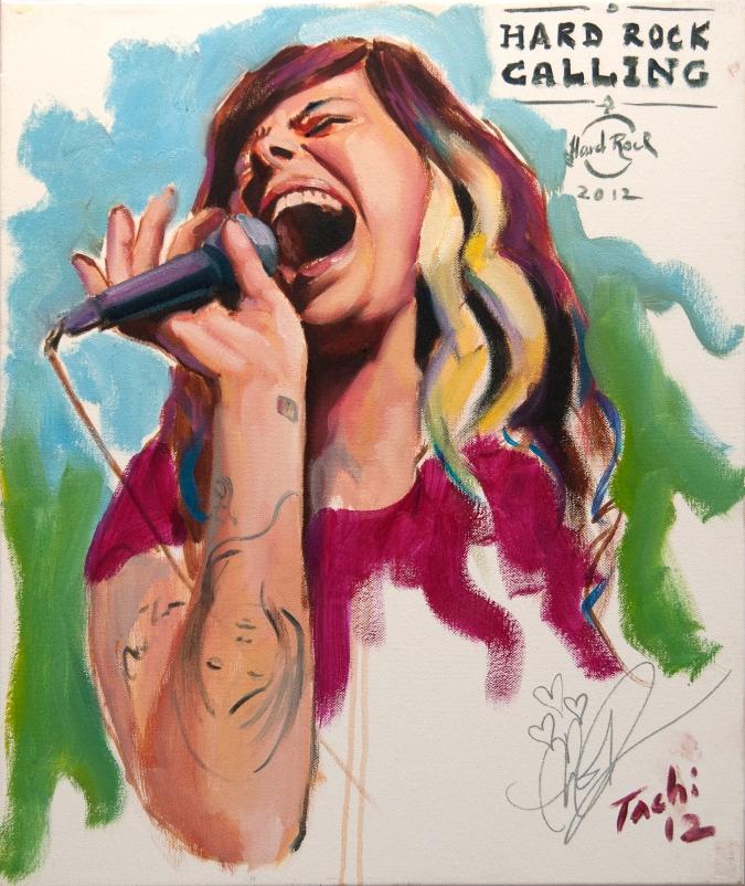 Christina Perri by Tachi