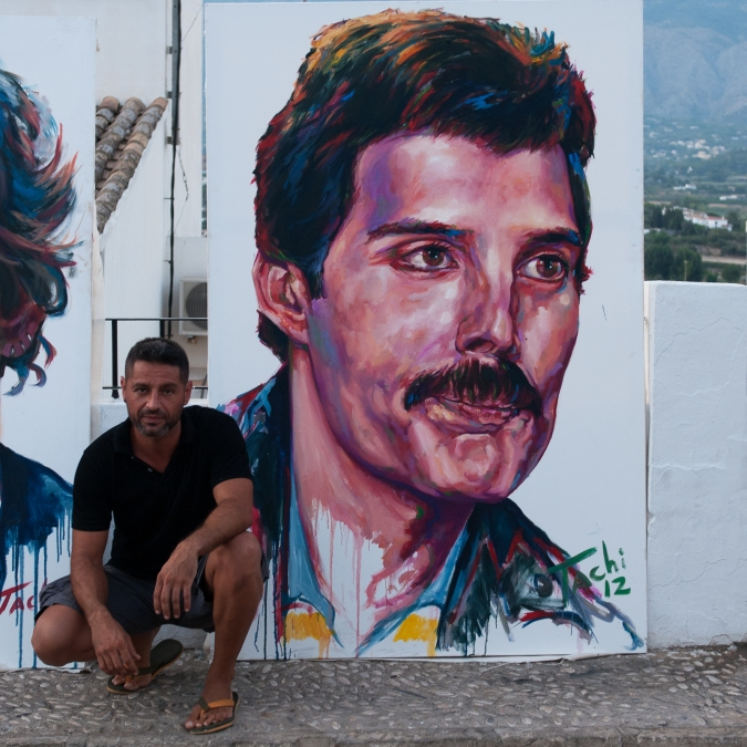 Freddie Mercury & Tachi