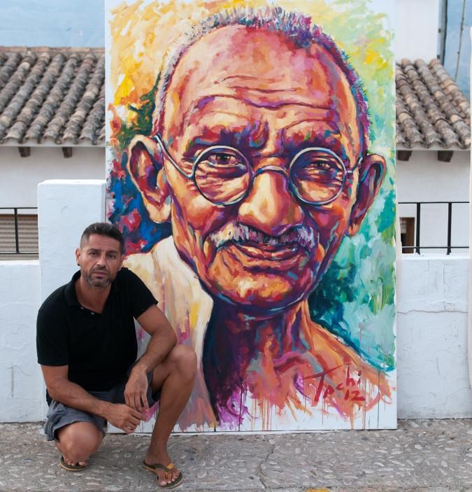 Gandhi and Tachi