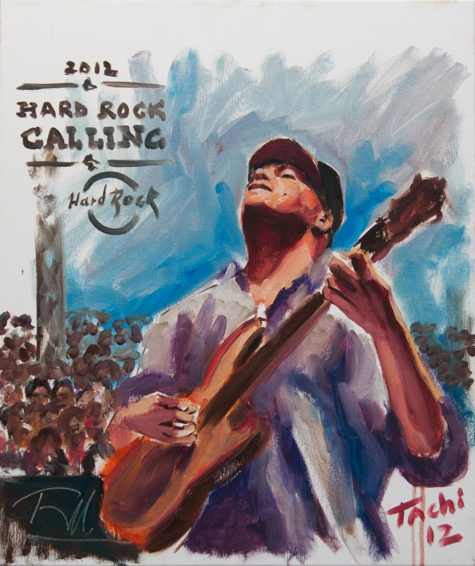 Tom Morello by Tachi