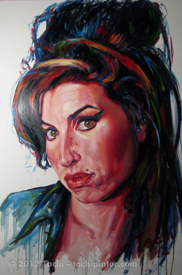 Amy Winehouse by Tachi
