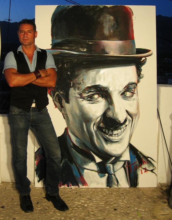 Charlie Chaplin & Tachi