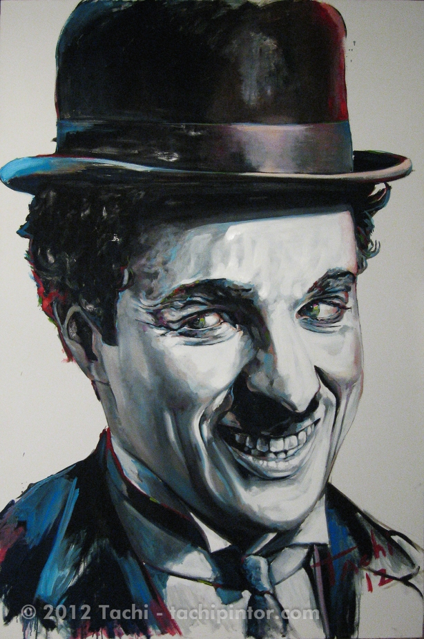 Charlie Chaplin by Tachi