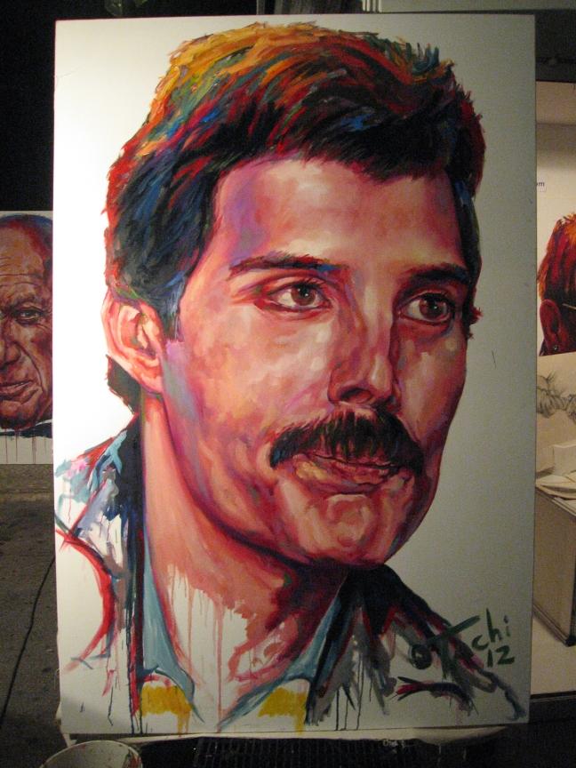 Freddie Mercury by Tachi - 033